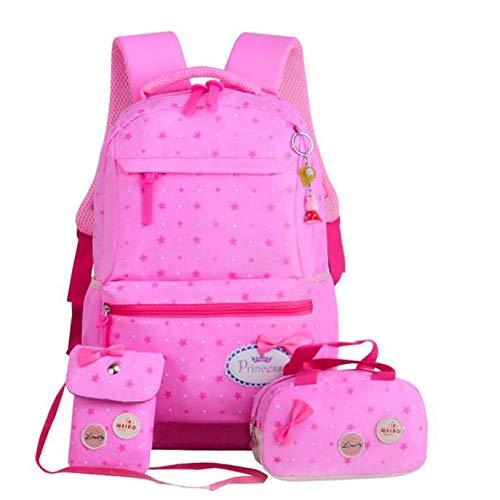 Rucksack 3 Teile/Satz Rucksack Mode Kinder Schöne bookpacks Für Kinder Teenager Mädchen Schüler