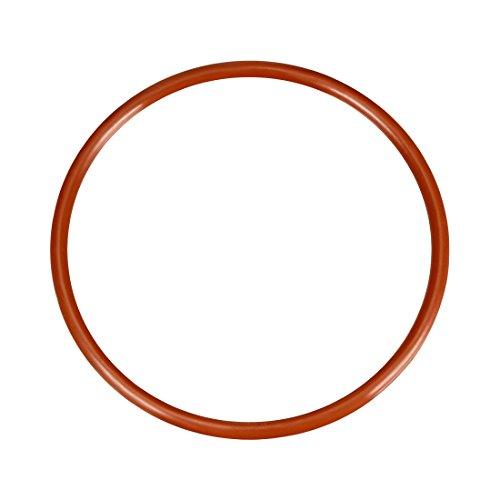 sourcing map 1pcs Silikon O-Ring VMQ Siegel Ring Dichtung Rot 80mmx73mmx3,5mm DE de