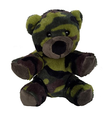 8' Recordable Camoflauge Military Bear w/ 10 Second Recorder