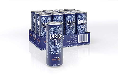 Larios Gin & Tonic Dose, EINWEG (12 x 0.25 l)