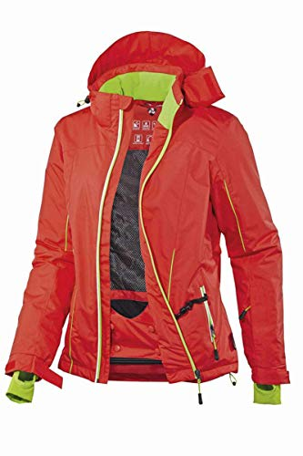 Crivit® Damen Funktionelle Skijacke Skisport Orange 42
