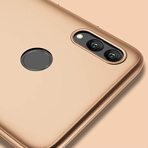 X-level für Honor 10 Lite Hülle, [Guardian Serie] Soft Flex Silikon Premium TPU Echtes Telefongefühl Handyhülle Schutzhülle Kompatibel mit Honor 10 Lite Case Cover - Gold - 5