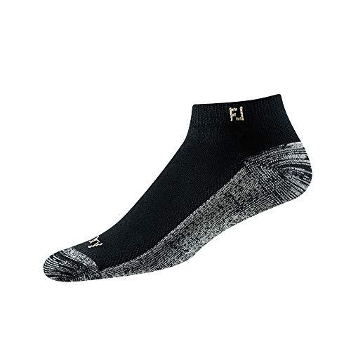 Footjoy Herren ProDry Sport Socken, schwarz, Fits Shoe Size 7-12
