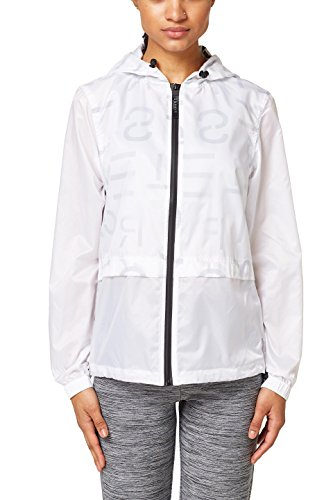 ESPRIT Sports Damen 018EI1G002-sportiv Jacke, 100/WHITE, 38 (Herstellergröße: M)