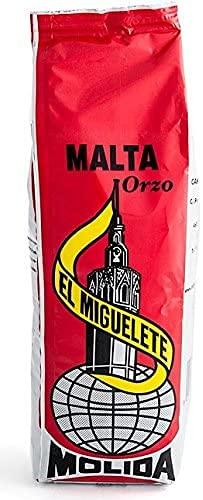 Malta el Miguelete - Cebada - Malta Molida - Original 100% Malta - Sabor de Siempre - Bolsa 500 GR