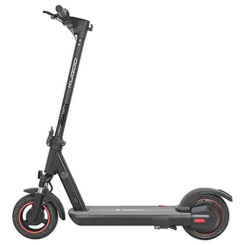 Rodamientos de la UE Dantenai Kugoo Kirin G1 Scooter eléctrico para adultos 500 W, hasta 40 km/h, duración máxima 40 km, carga máxima 120 kg, control antirrobo con aplicación NFC.