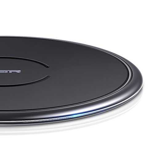 ESR 10W/7.5W Wireless Charger kompatibel mit iPhone 12/12 Pro/12 Pro Max/12 Mini/SE 2020/11/XS/XR/X/8,Samsung Galaxy S21/S20/S10/S9/S8 usw (Schwarz)