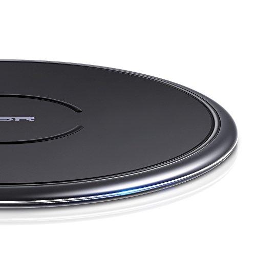 ESR 10W/7.5W Wireless Charger kompatibel mit iPhone 11/11 Pro/11 Pro Max/XS/XR/X/8/8+,Samsung S20/S20+/S20 Ultra/S10/S10+/S10e/S9/S9+/S8/S8+ usw.(Schwarz)