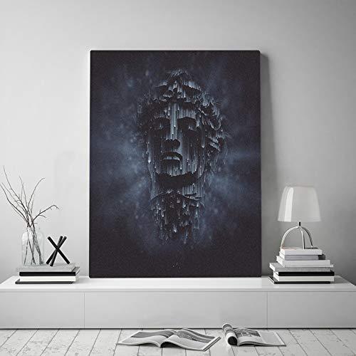 wopiaol Kein Rahmen Darkness Vaporwave Aesthetics Leinwandplakat Malerei Wandkunst Dekor Wohnzimmer Schlafzimmer Studie Home Decoration Prints