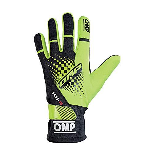 OMP OMPKK02744E059M Guantes, Negro/Amarillo, M