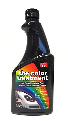The Treatment 52016 Black Carnauba Color Wax, 16 oz, 1 Pack