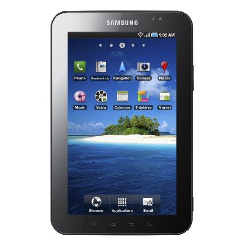 Samsung P1000 Galaxy Tab 7-inch 3G + Wi-Fi Tablet (ARM Cortex A8 1GHz, 16 GB, 7-inch TFT LCD, Bluetooth, Android 2.2) - Sim Free