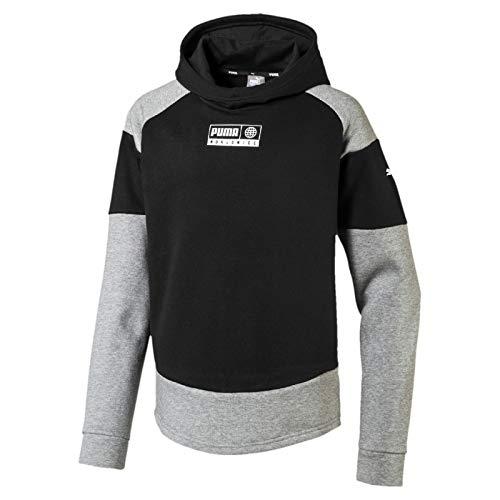 PUMA Jungen Alpha Advanced Hoody FL B Pullover, Black, 152