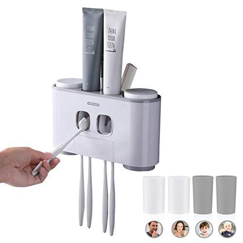 Distributeur Automatique de Dentifrice et Porte-Brosse à Dents