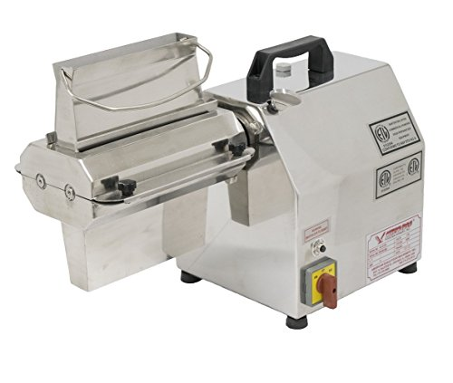 American Eagle Food Machinery 1HP Commercial Electric Meat Tenderizer Kit Stainless Steel