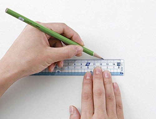 レイメイ藤井『定規はし0目盛り15cm』