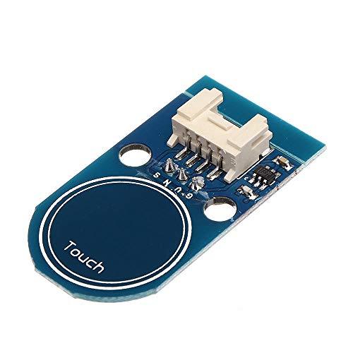 hgbygvuy 3pcs Touch Switch Module Modulo Touch Sensor Touch-Sensori Touchpad 4P / 3P Interfaccia S