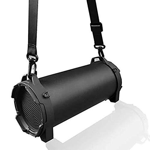 HBBOOI Bluetooth Lautsprecher IPX7 Wasserdicht, Wireless Lautsprecher, Tragbarer 360° Stereo Lautsprechersound, Satter Bass, 12 Std.-Spielzeit, Für Heim/Outdoor, Dusche, Party, Urlaub