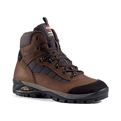 Olang Pedula Nebraska Trekking Schuhe, Braun - Leder - Größe: 40 EU