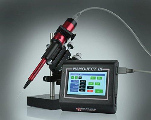 Drummond Scientific 3-000-207 Nanoject III Programmable Nanoliter Injector, 100-240V, 50/60 Hz