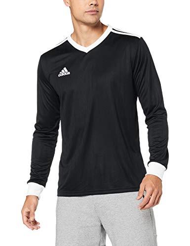adidas TABELA 18 JSY L Camiseta Mangas Largas, Hombre, Negro (Black/White), XS