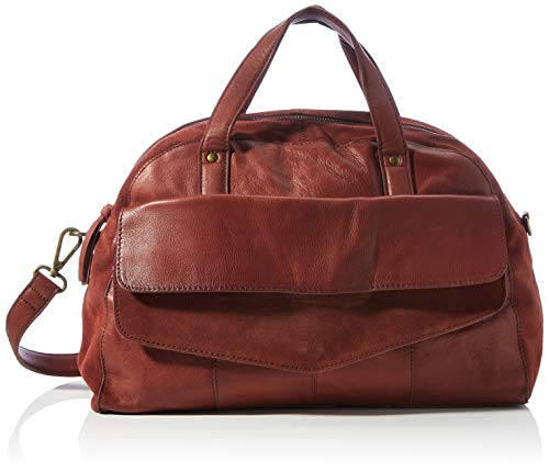 PIECES Damen PCSVALE LEATHER DAILY BAG FC Tasche, Rust, ONE SIZE