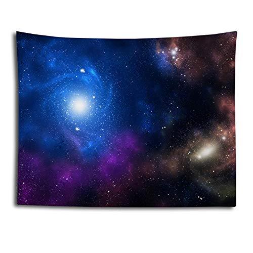 haoyunlai Universo Starry Sky Space Tapices Tapping Colgando Gran Tapicería de Estrella Psicodélica para El Tela De Pared De Dormitorio Playa Lanzar Picnic Manta-Xk-4_150 * 200 cm