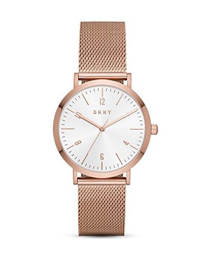 DKNY Damen Analog Quarz Uhr mit Edelstahl Armband NY2743