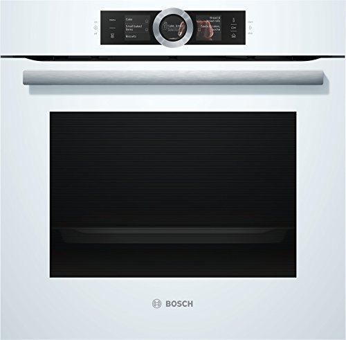 Bosch Serie 8 HSG636BW1 - Horno (Medio, Horno eléctrico, 71 L, 3650 W, 71 L, 250 °C)