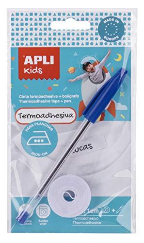 APLI Kids 17796 - Nastro termoadesivo 2 m con penna