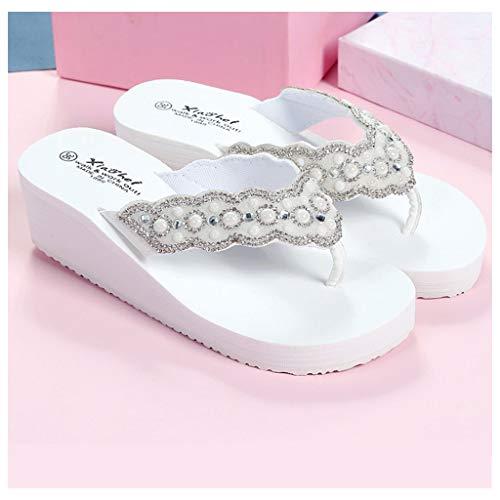 RHSMP strass-slippers voor dames en meisjes, voor de zomer