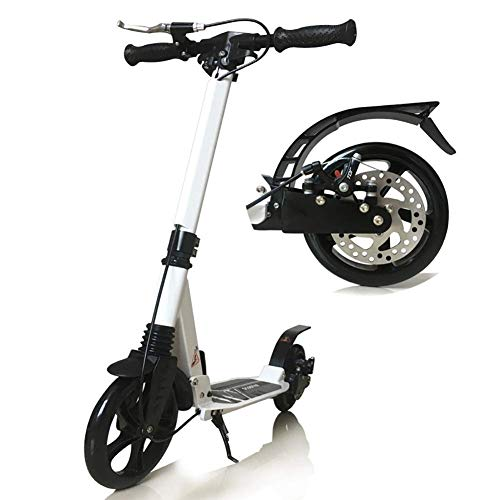 Outdoor Sports Scooter Kick-Folding Adult-Tritt mit Scheibenbremse, nicht elektrisch stoßabsorbierendes Stadt mit Griff Big Wheels, 150Kg laden Erwachsene Kinder Spielzeug Gleichgewicht Auto Mini