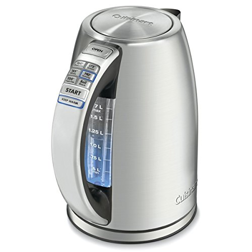 Cuisinart PerfecTemp 1.7-Liter Cordless Electric Kettle