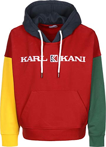 Karl Kani Retro Block W Hoodie red/Yellow/Green/Blue