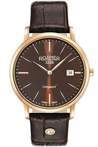 Roamer Switzerland Vanguard Slim Line 979809 49 45 09 - Reloj automático para hombre