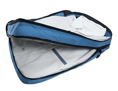 (バッグスマート)BAGSMARTパッキングオーガナイザーアレンジケース2点セットトラベルポーチ2段式収納衣類