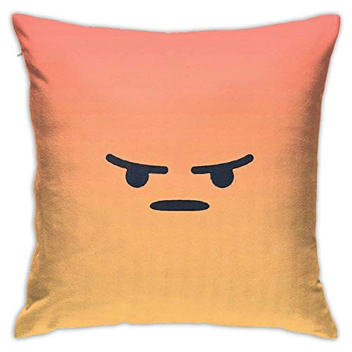 XCNGG Funda de almohadaGoodneighbor Bedroom Throw Pillow Covers Home Decorative Couch Sofa Square Pillow Case 18x18 in