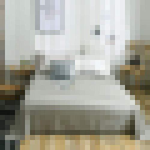 DOUJIAO Una Sola Pieza De Color Puro Algodón Puro Sábana De Algodón Simple Simple Sábana De Cama De Tatami Doble 100% Algodón 1+ Funda De Almohada De 2 Piezas230*250cm(91 * 98inch)