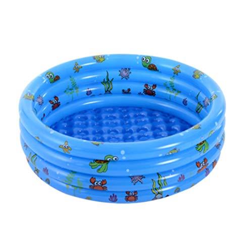 ashj Piscina Infantil Piscinas hinchables Piscina Inflable Ocean Ball Pool Redonda de Juguetes para niños para niños de la Piscina de Olas Cubierta de Espesor.