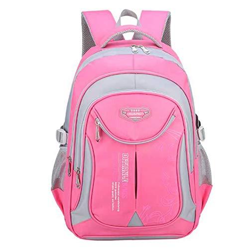 School Backpacks for Girls Kids Elementary School Bags Bookbag Travel Daypack Pink