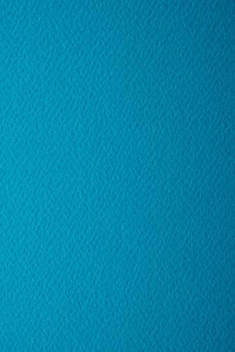 10 Blatt Blau 220g Tonkarton einseitig strukturiert DIN A4 210x297 mm Prisma Oceano Ton-Karton mit Textur Bastel-Karton mit Struktur farbig A4 Karten-Karton Textur bunt