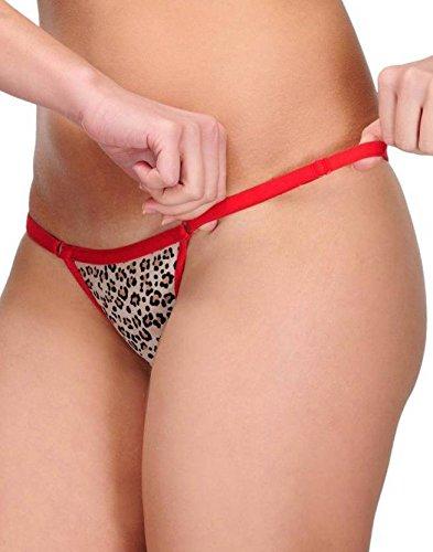 Embibo Women's G-String Red Panty