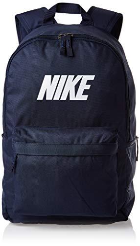 Nike Unisex Adult, NK Heritage Backpack Block, Polyester, Backpacks, Blue, One Size EU