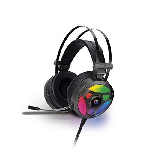 Headset Gamer Rgb G Pro H1+ 7.1, Fortrek, Microfones e Fones de Ouvido, Cinza