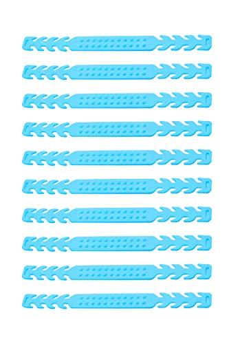 [NEUES DESIGN] 10x Stück einstellbare Maskenverlängerung Maskenhalter Mundschutzhalter Ohrenschoner | für Kinder und Erwachsene | hoher Tragekomfort | rutschfestes Noppen-Design |