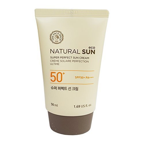 The Face Shop Super Perfect Sun Cream Spf50+/pa+++ Sunscreen 50ml