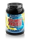 IronMaxx 100% Whey Protein – Whey Eiweißshake auf Wasserbasis – Proteinpulver mit Lemon-Joghurt Geschmack – 1 x 900 g Dose