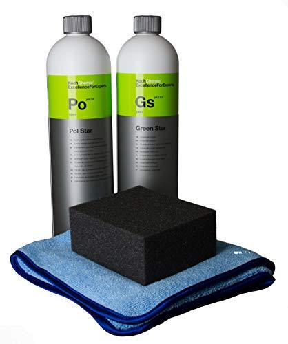SET Koch Chemie Pol Star + Green star + AV Pflege Set