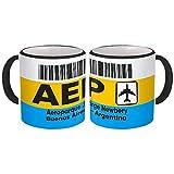 Argentina Aeroparque Buenos Aires AEP : Gift Mug Travel Airline Pilot AIRPORT