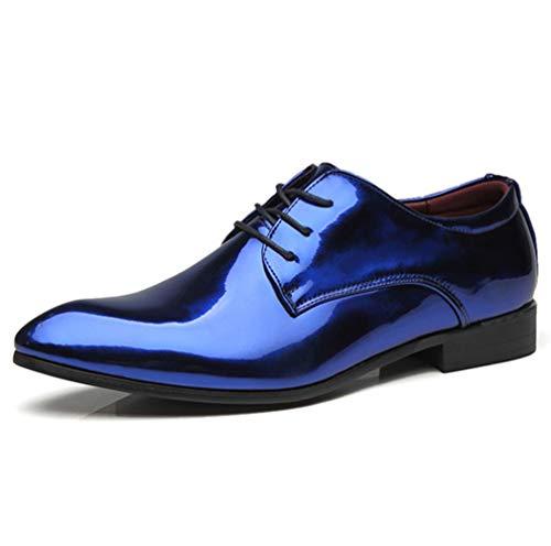 TAZAN Herren Spitzleder Smart Formal Dress Schuhe Schnürschuhe Oxford Leder gefüttert Formale...